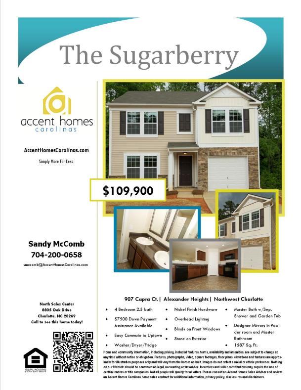 Brand New Home In Northwest Charlotte Easy Drive To